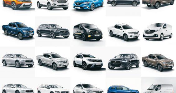 Nya bilar till salu europa